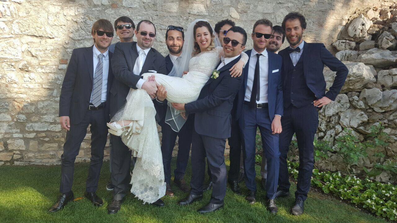 The Friends of Bride and Groom